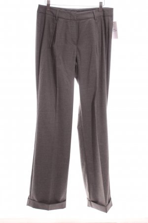 BC Bundfaltenhose grau meliert Business-Look