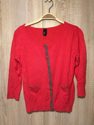 BC Knitted Cardigan red-khaki viscose