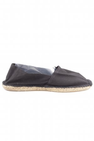BC Collection Espadrilles-Sandalen schwarz-wollweiß Casual-Look