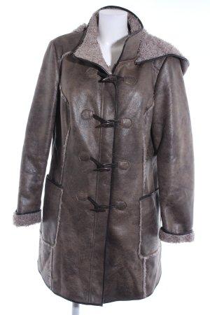 BC Collection Short Coat green grey-light grey casual look