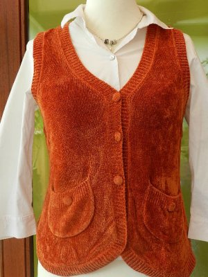 BC Collection Knitted Vest orange