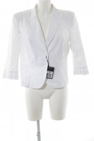 BC Jersey Blazer white casual look