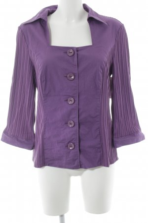 BC Long Sleeve Blouse lilac casual look