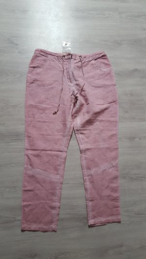 Best Connections Linen Pants bright red linen