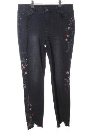 BC Slim jeans zwart Geklonken elementen