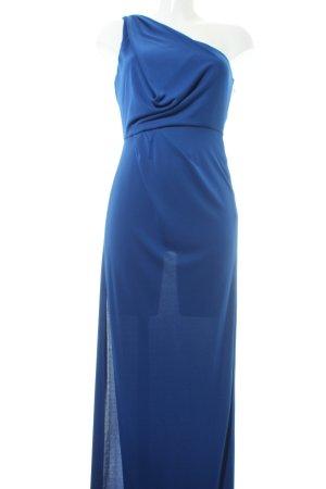 BCBG Vestido de noche azul elegante