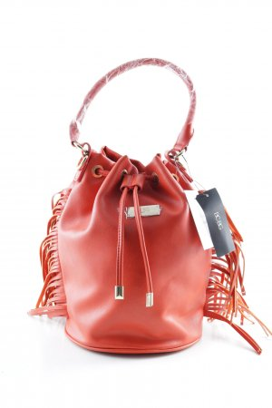BCBG Pouch Bag bright red street-fashion look