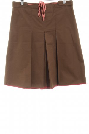 BCBG Flared Skirt bronze-colored business style