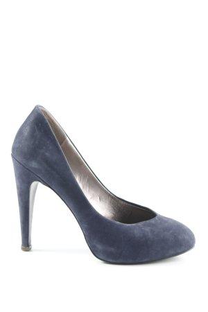 BCBG High Heels dark blue business style