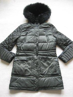 BCBG Chaqueta de invierno verde oscuro