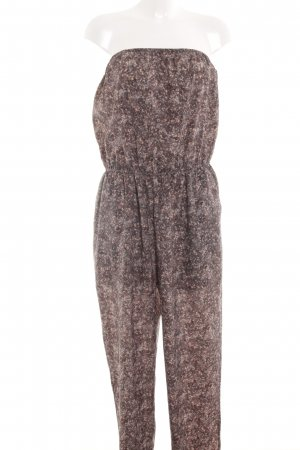 BCBG Jumpsuit Allover-Druck Casual-Look