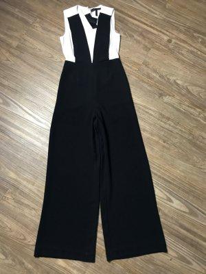 BCBG Jumpsuit NEU schwarz weiß Gr. XS