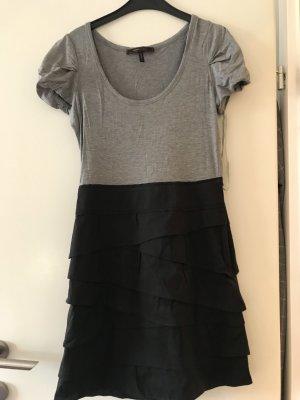 BCBG Vestido gris-negro