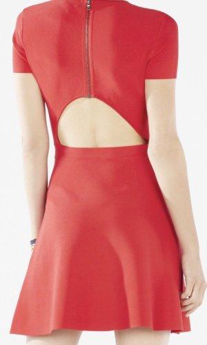 BCBG Maxazria Mini Dress raspberry-red