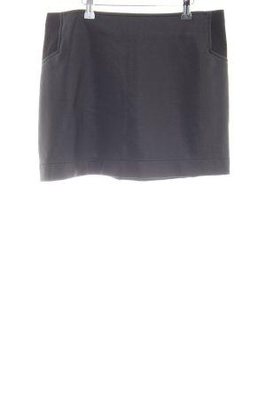 BCBG Leather Skirt light grey casual look