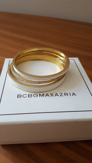 BCBG Maxazria Bangle white-gold-colored