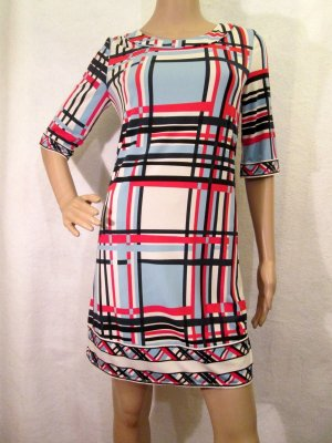 BCBG Maxazria Mini vestido multicolor