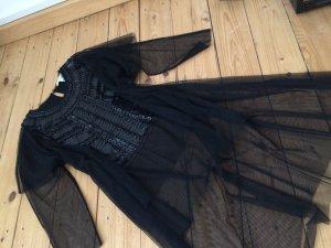BCBG Maxazria Blusa negro