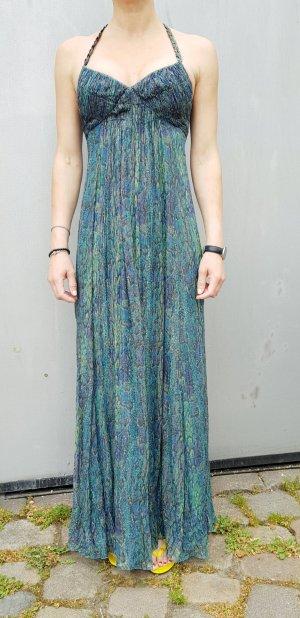 BCBG Max AzriaAbendkleid Maxikleid Ballkleid Gown Seide ibiza boho hippie Hochzeit