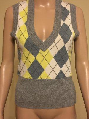 BCBG Maxazria Sweater zilver-geel