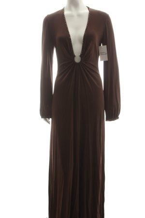 BCBG Maxazria Abendkleid braun Eleganz-Look