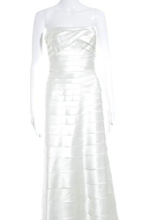 BCBG Maxazria Abendkleid creme Elegant