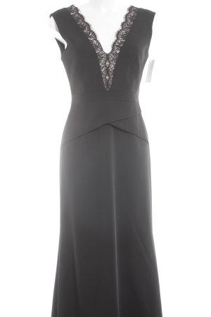 BCBG Maxazria Abendkleid schwarz-nude Elegant