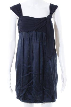 BCBG Maxazria Ballonkleid dunkelblau Elegant