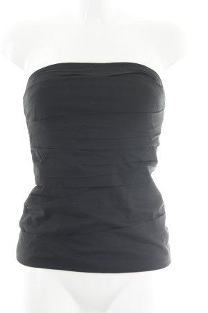BCBG Maxazria Haut bandeau noir style décontracté
