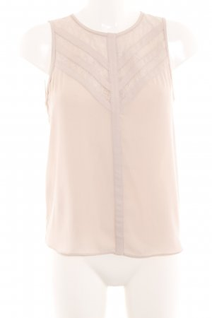 BCBG Maxazria Blouse Top cream casual look