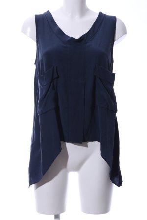 BCBG Maxazria Blusa blu stile stravagante