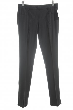 BCBG Maxazria Bundfaltenhose schwarz Business-Look