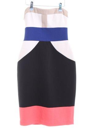 BCBG Maxazria Bustierkleid mehrfarbig Elegant