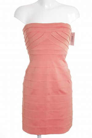 BCBG Maxazria Bustierkleid apricot Party-Look