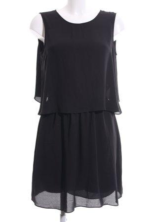 BCBG Maxazria Cut out jurk zwart casual uitstraling