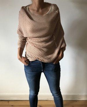 BCBG Maxazria Crochet Top multicolored