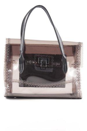 BCBG Maxazria Handtasche schwarz-braun Business-Look