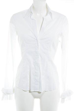 BCBG Maxazria Hemd-Bluse weiß klassischer Stil