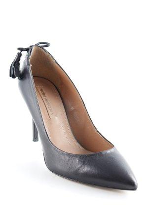 BCBG Maxazria High Heels schwarz Casual-Look
