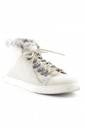BCBG Maxazria High Top Sneaker creme Animal-Look