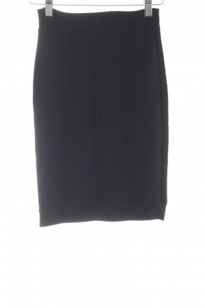 BCBG Maxazria Rok met hoge taille zwart zakelijke stijl