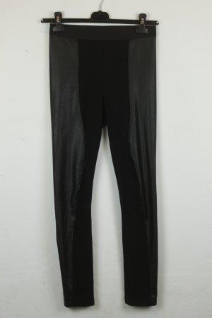 BCBG Maxazria Legging zwart Gemengd weefsel