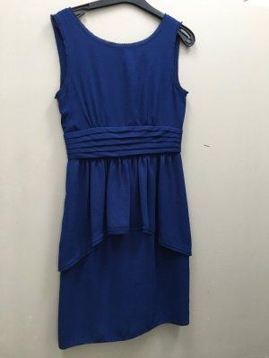 BCBG Maxazria Kleid blau Gr. 36 S figurbetont