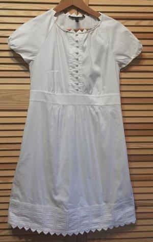 BCBG Maxazria Stretch jurk wit Katoen