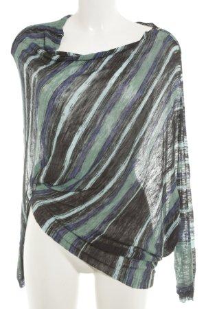 BCBG Maxazria Longshirt Streifenmuster extravaganter Stil
