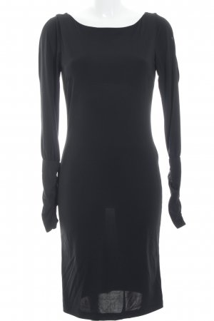 BCBG Maxazria Midi Dress black elegant