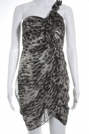 BCBG Maxazria One-Shoulder-Kleid Punktemuster Elegant