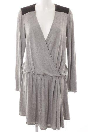 BCBG Maxazria Shirtkleid schwarz-grau Casual-Look