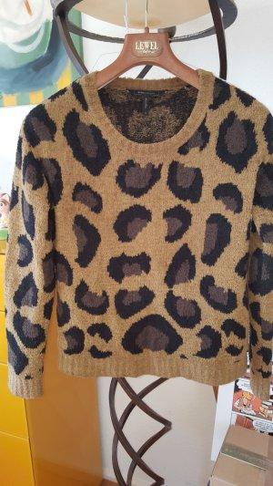 BCBG Maxazria Sibel Leo Animal Pullover XS