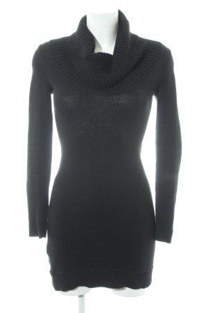 BCBG Maxazria Strickkleid schwarz schlichter Stil